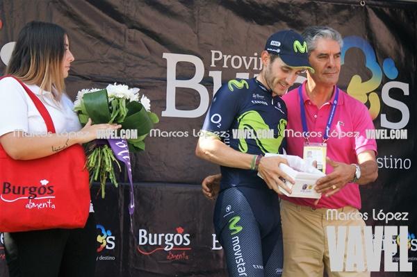 Carlos Barbero, premio al mejor ciclista burgalés. | Foto: VAVEL