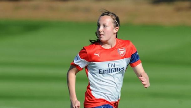 Caroline Weir in her Arsenal days   Photo: Arsenal.