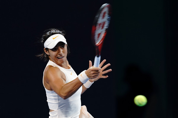 Caroline Garcia will be hoping to enter the new year with confidence | Photo: Lintao Zhang/Getty Images AsiaPac