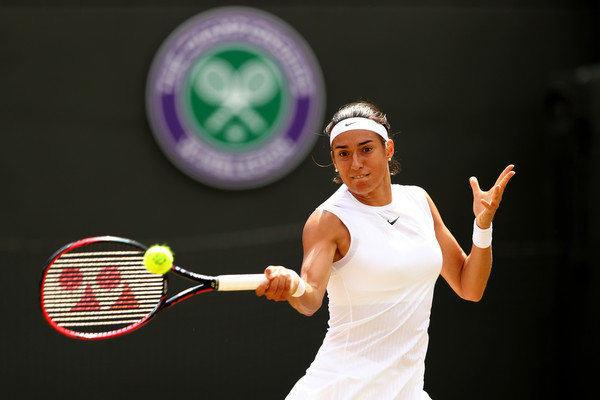 Caroline Garcia managed to put up a tough fight | Photo: Michael Steele/Getty Images Europe