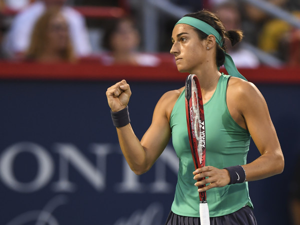 Caroline Garcia will be proud of how she performed today | Photo: Minas Panagiotakis/Getty Images North America