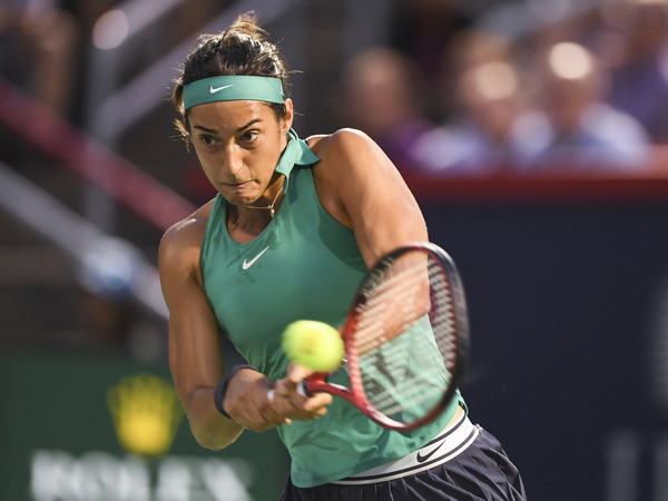 Caroline Garcia was firing on all cylinders today | Photo: Minas Panagiotakis/Getty Images North America