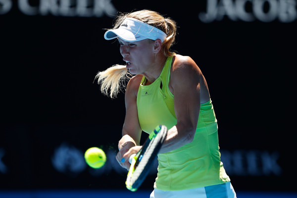 Caroline Wozniacki fought back to take the second set 6-2 | Photo: Scott Barbour/Getty Images AsiaPac