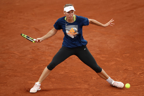 Caroline Wozniacki is in the driving seat for the number one ranking | Photo: Cameron Spencer/Getty Images Europe