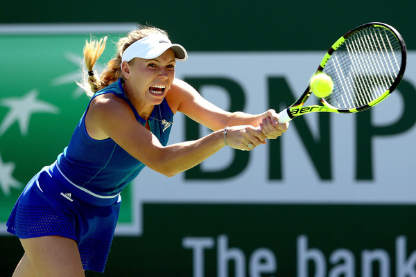 Caroline Wozniacki battled past many quality opponents this week | Photo: Matthew Stockman/Getty Images North America
