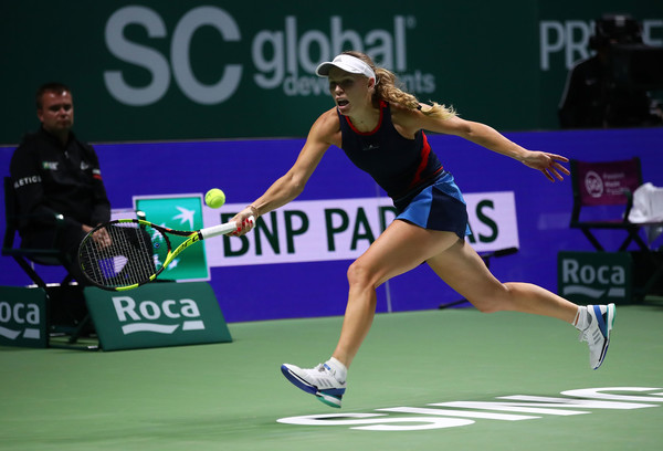 Caroline Wozniacki had a great start but was unable to capitalize | Photo: Clive Brunskill/Getty Images AsiaPac