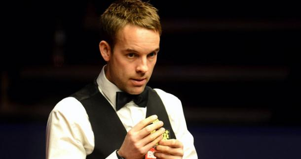 Ali Carter will be hoping the 'Crucible Curse' strikes again. Photo: Sky Sports