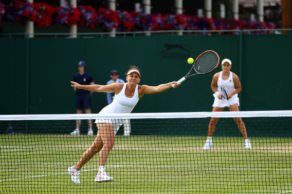 Barty and Dellacqua in action at the Wimbledon Championships | Photo: Michael Steele/Getty Images Europe