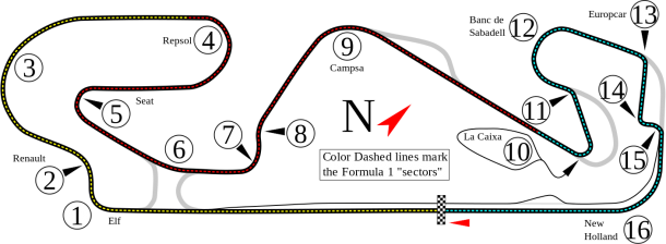 Track modifications were made in order to aid racing. | Photo: Wikipedia