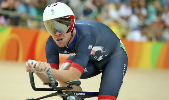 Cavendish has made a great start to the Omnium, as he currently sits in third place / The Express