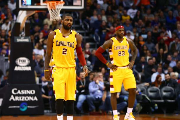 Irving quiere abandonar la sombra de LeBron. | Foto: USA Today