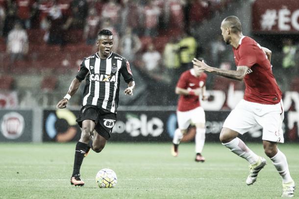 Cazares foi o construtor da jogada que terminou em gol (Foto: Bruno Cantini/Atlético-MG)