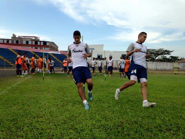 Último entrenamiento, previo al partido contra el Huila | Foto: @cortuluaoficial