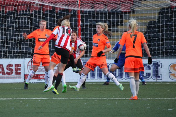 It was a well contested match at the Excelsior Stadium on Sunday. | Photo: Glasgow City FC