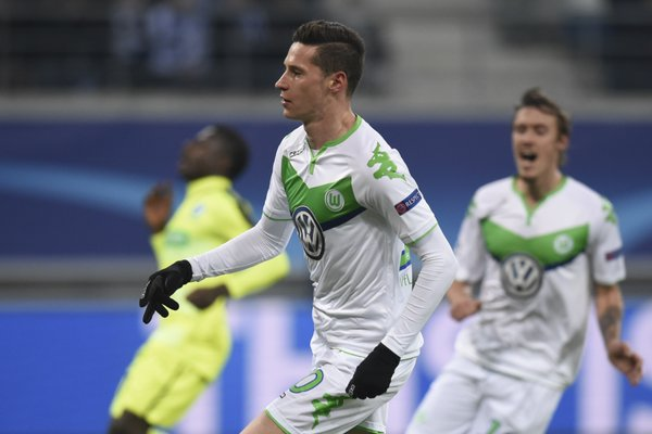 Draxler opens the scoring. Image source: kicker