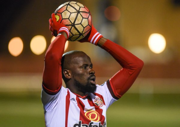 Eboue featured for the under-21s during his Sunderland trial. | Photo: Sunderland AFC