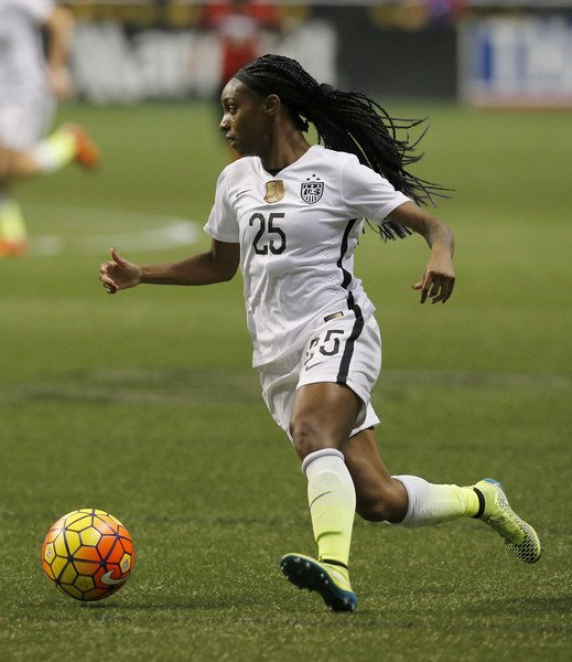 Dunn was the difference on the day. | Photo: Women's Soccer United