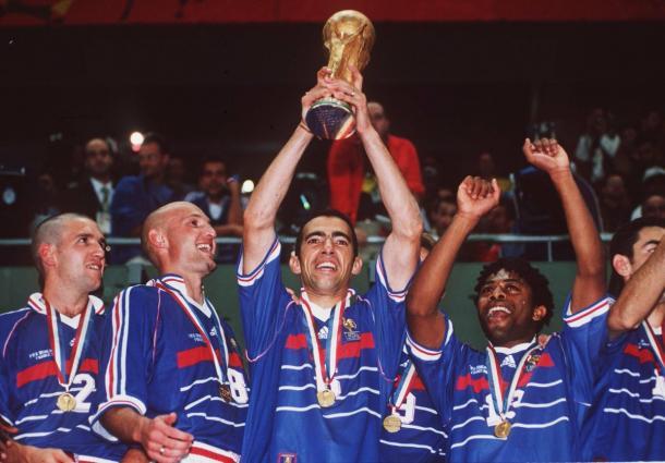 Francia terminó celebrando el campeonato del mundo | Foto: @FIFAWorldCup
