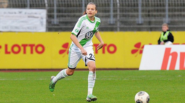 Wedemeyer is a player with a big future ahead of her, her manager believes. | Photo: VfL Wolfsburg Frauen