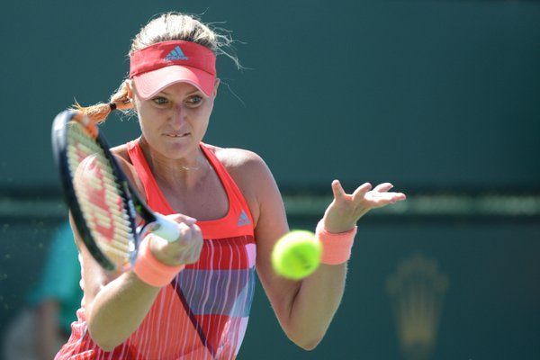 Mladenovic turns aggressive but fails to find a breakthrough | Photo courtesy of: Christopher Levy