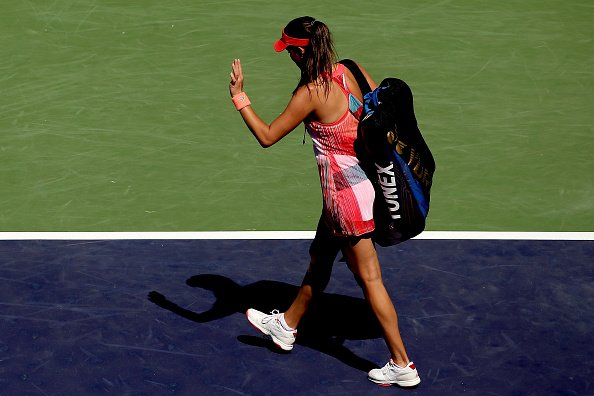 Another early tournament exit in 2016 for Ana Ivanovic. Image Credit: Getty