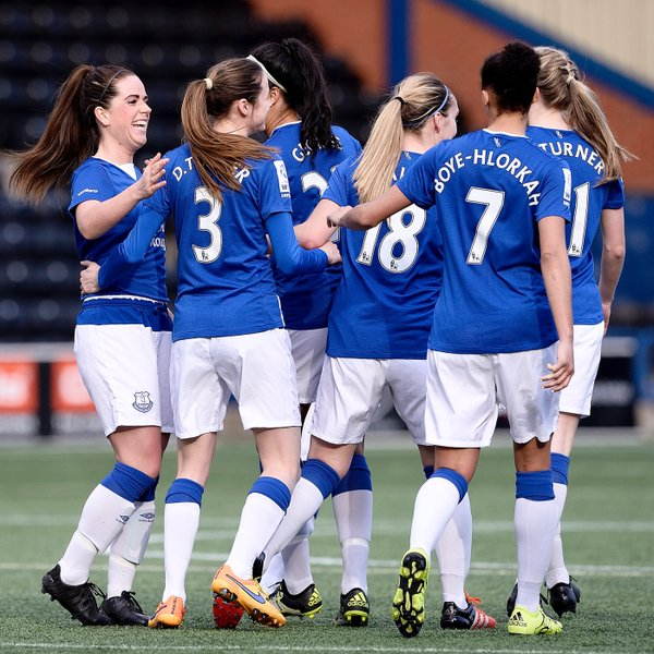 Can Everton get themselves in the promotion race? (Photo: Everton Ladies FC)
