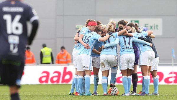 Can Manchester City wrestle the title off of Chelsea? (Photo: Manchester City WFC)