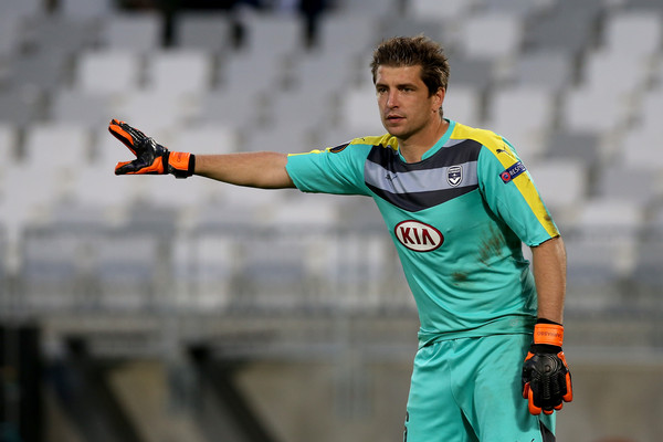 Maurice-Belay is not the only one at Bordeaux with knee problems; 'keeper Cedric Carrasso and midfielder Jaroslav Plasil also are out for the long-term with ailments at the knee (Photo: Romain Perrocheau/Getty Images).