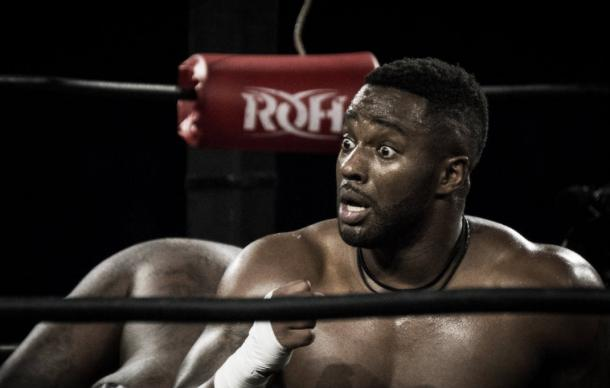 Alexander has given up his contract with Ring of Honor to compete in this tournament (image:zalaphoto.com)