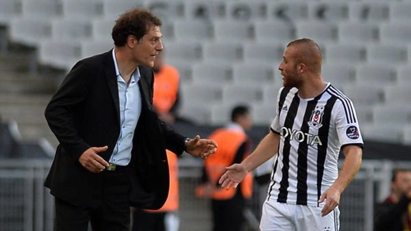 Slaven Bilic and Gokhan Tore during their time with Besiktas | Photo: Twitter