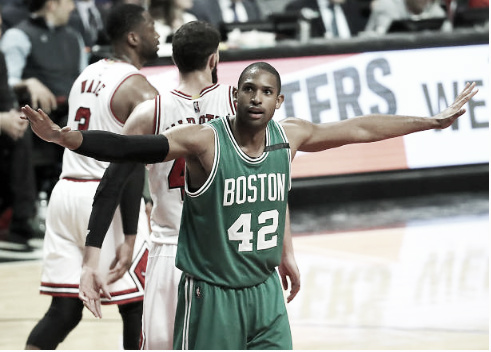 Al Horford filled the stat sheet in Game 3  |  Getty Images
