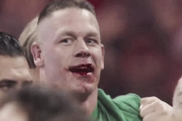 Cena has taken his share of knocks inside a WWE ring (image: bleacherreport.com)