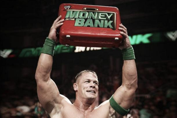 John Cena won arguably the worst money in the Bank match in company history. Photo: Bleacher Report