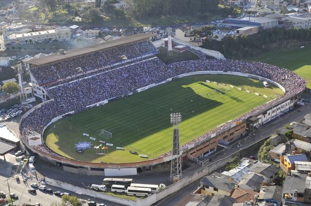Estádio em Caxias tem capacidade para 22 mil pessoas (Foto: Divulgação/SER Caxias)