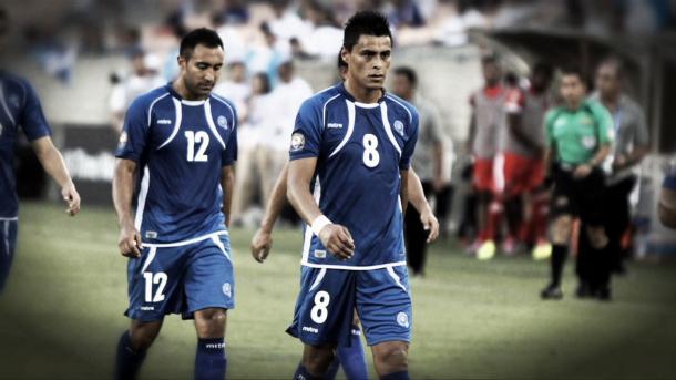 Darwin Cerén, jugador de El Salvador