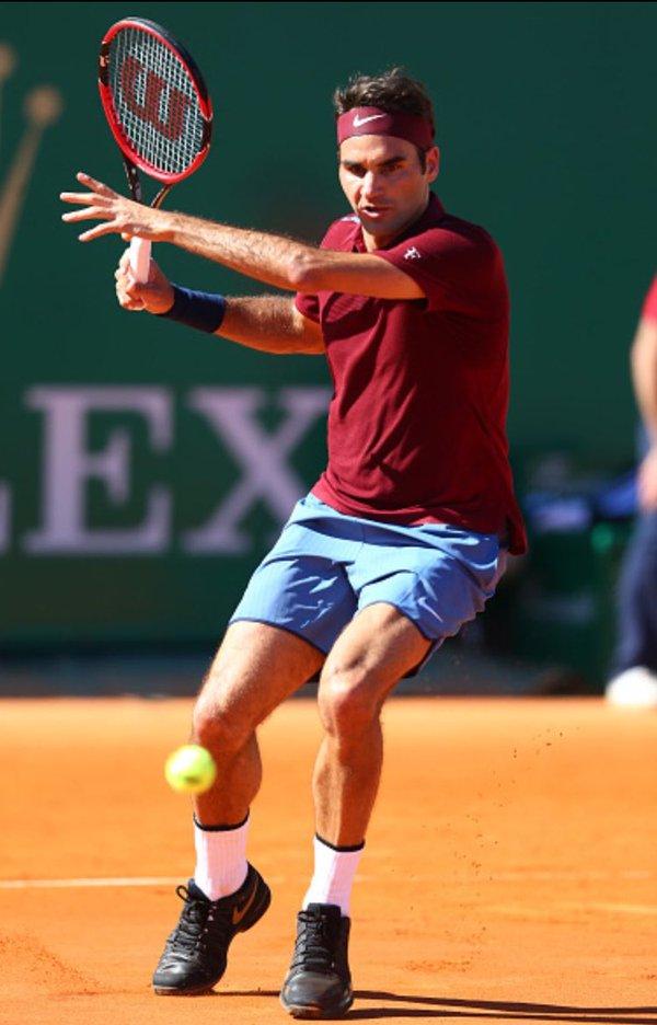 Federer in azione - Foto: ATP