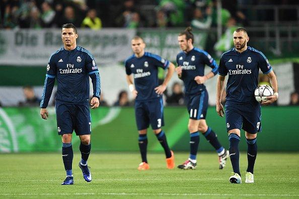 Wolfsburg Real Madrid 2-0, ChampionsLeague