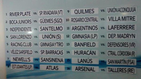 Foto: Twitter Copa Argentina