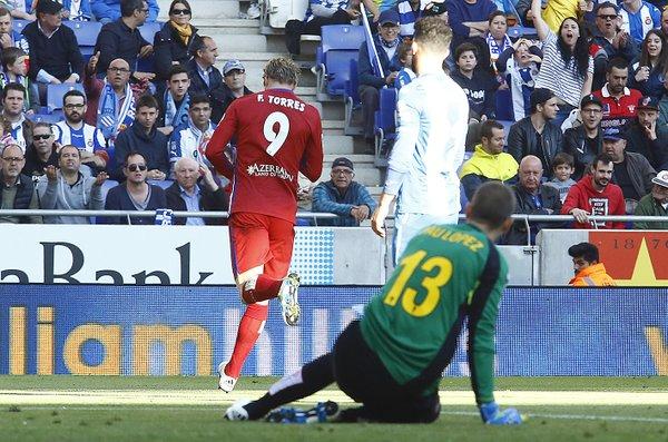 L'esultanza di Torres. Fonte: clubatleticodemadrid.com