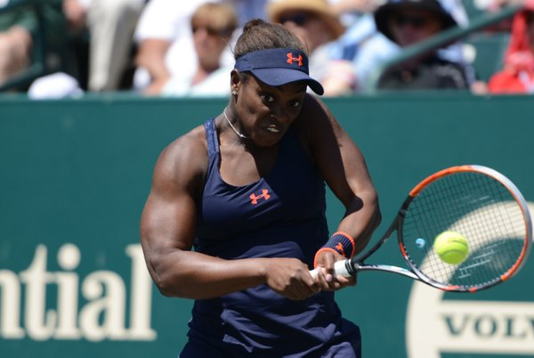 Stephens barely put a foot wrong in the first set | Photo: Christopher Levy