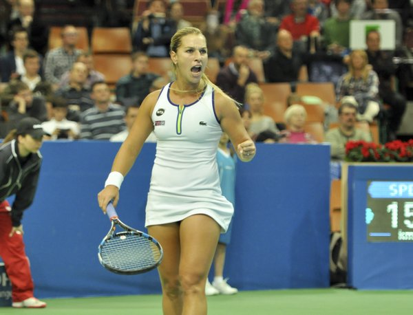 Cibulkova gets her first win over Giorgi for her fifth WTA title | Photo: Katowice Open