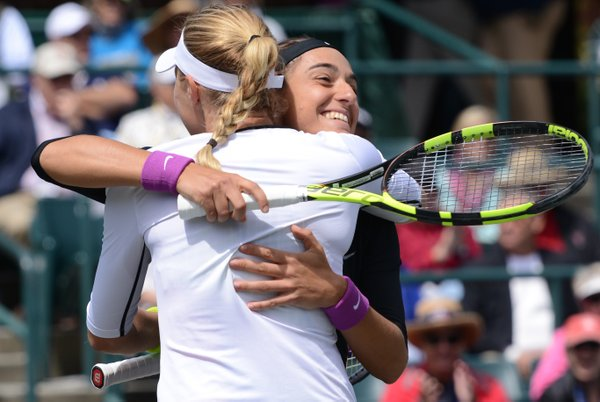Doubles win ending a tough week for Garcia | Photo: Christopher Levy