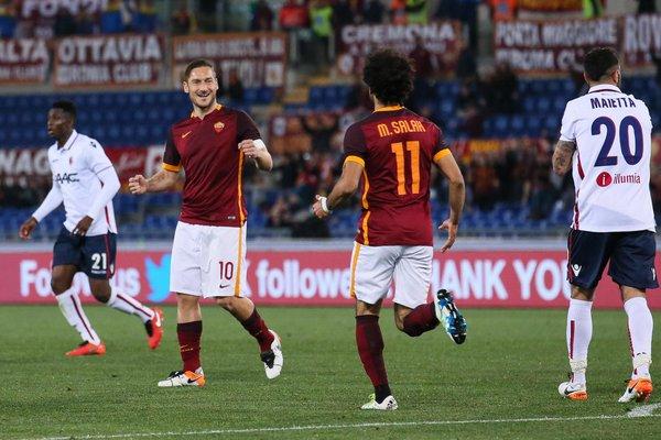 Roma Bologna 1-1, GazzettaWorld