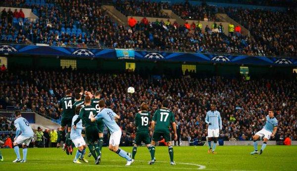 L'ultima sfida ufficiale tra City e Real. Fonte: AFP.
