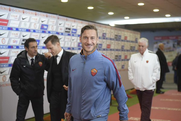 Foto: @OfficialASRoma Twitter