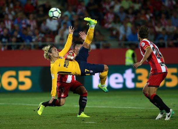 Griezmann é expulso, mas Atléti alcança empate fora de casa (Foto: Ángel Gutiérrez/Atlético de Madrid)
