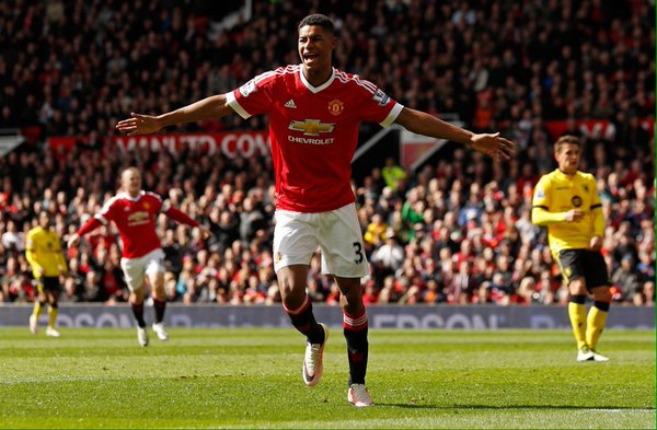 Rashford scored the winner yet again for the Reds | Photo: Getty Images