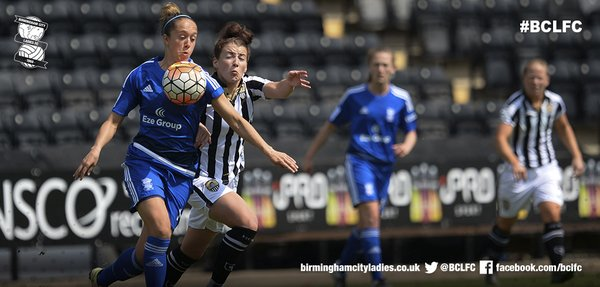 Jo Potter grabbed the assist for Birmingham's winning strike. (Photo: Birmingham City LFC)