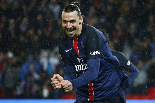 Ibrahimovic was at the double on Friday night. (Photo: PSG.fr)