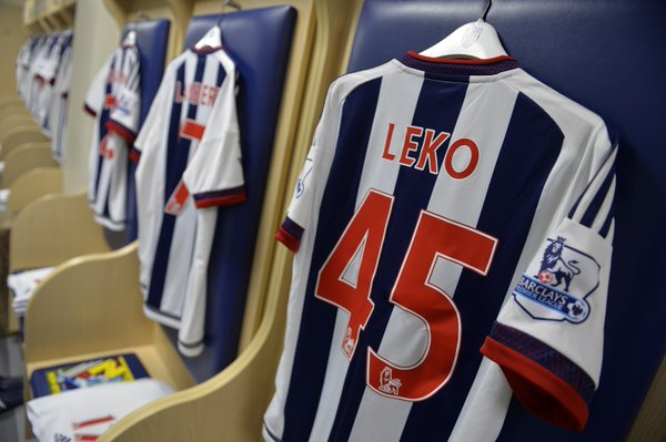 17 year old Leko handed his debut. Source: West Bromwich Albion